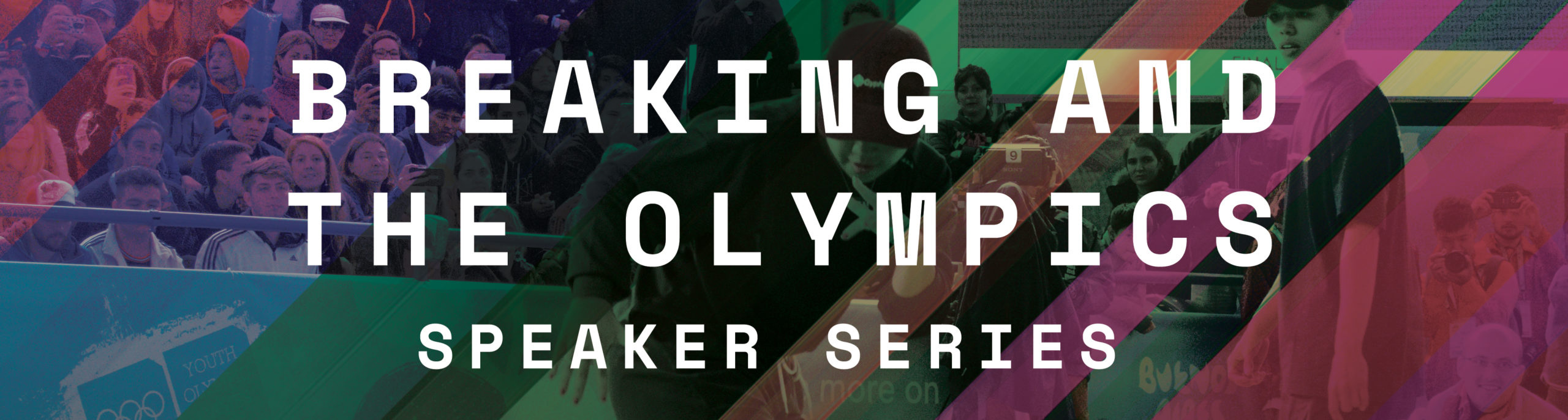 Breaking and the olympics banner